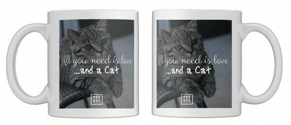 All you need is love …and a ... | Tasse