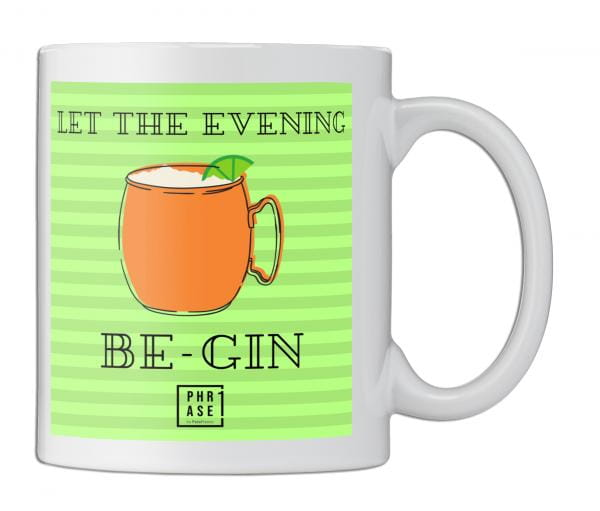 Let the evening be Gin  | Tasse