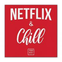 Netflix and Chill | Leinwand