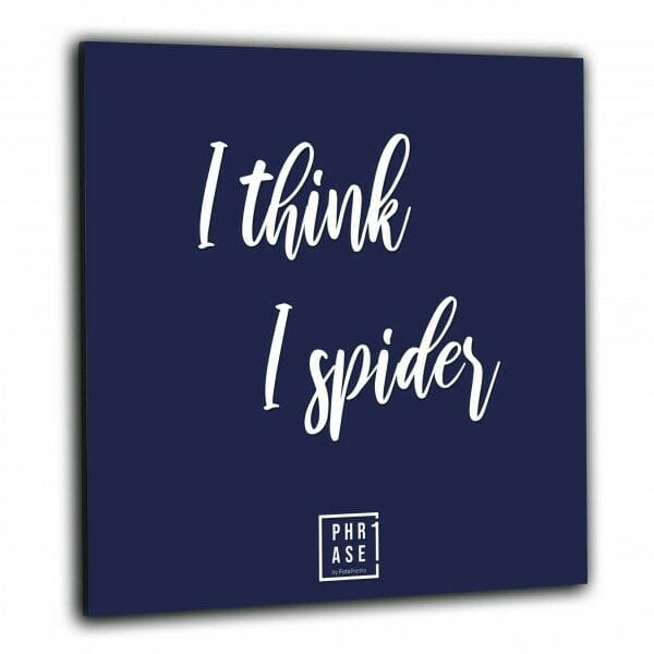 I think I spider | Wandbild
