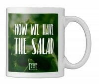 Now we have the Salad | Tasse