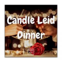 Candle Leid Dinner | Leinwand