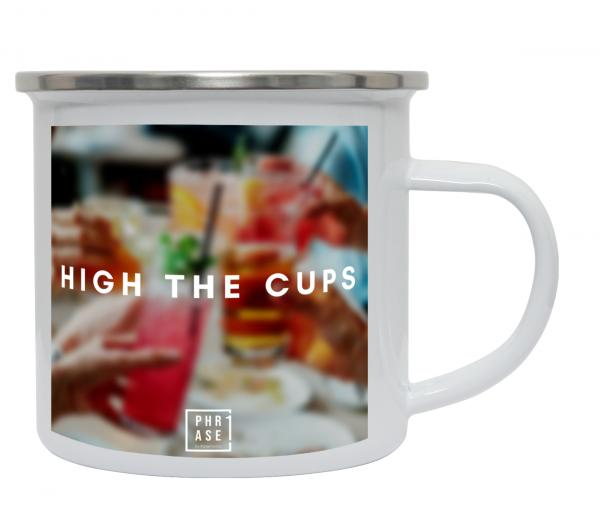High the cups | Emaille Becher