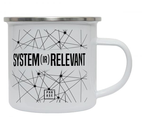 system(ir)relevant | Emaille Becher