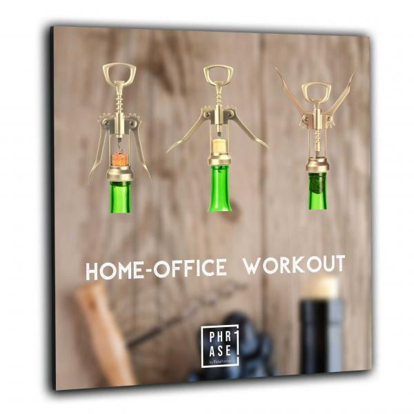 Home-Office Workout | Wandbild