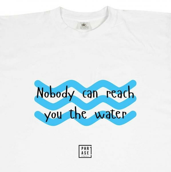 Nobody can reach you the ... | T-Shirt