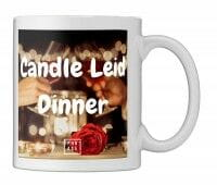 Candle Leid Dinner | Tasse