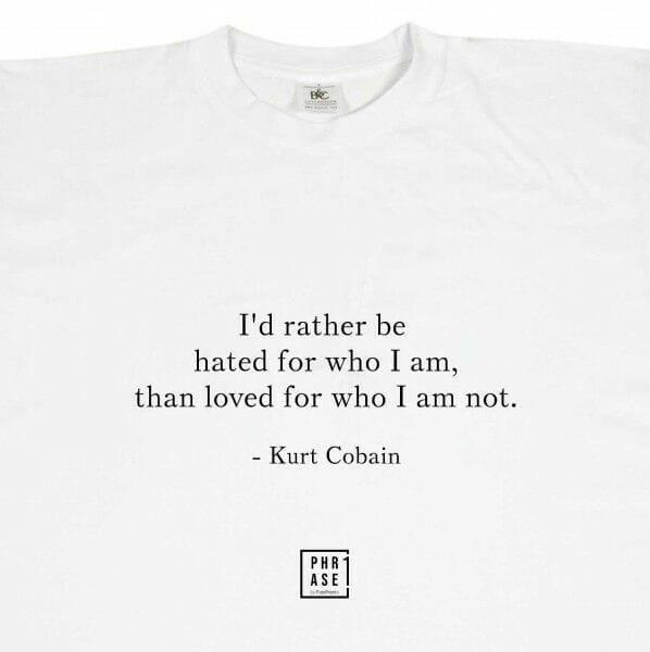 I'd rather be hated for who I ... | T-Shirt